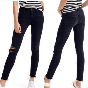 Madewell Skinny Skinny DarkWash Ripped Jeans Sz24